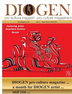 DIOGEN pro art magazine No 45...1.3.2014