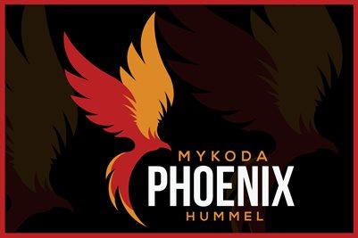 Mykoda Hummel Phoenix Logo Poster