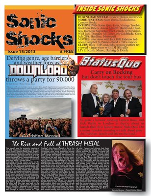 SONIC SHOCKS Issue 15