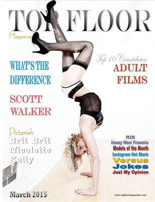 Top Floor Magazine March 2015 Brit Brit