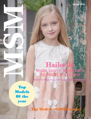 Model Source Magazine Spring 2016 Issue