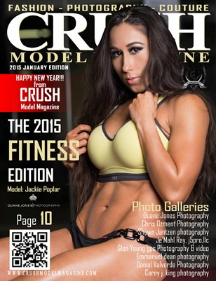 CRUSH MODEL MAGAZINE 2015 FITNESS EDITION
