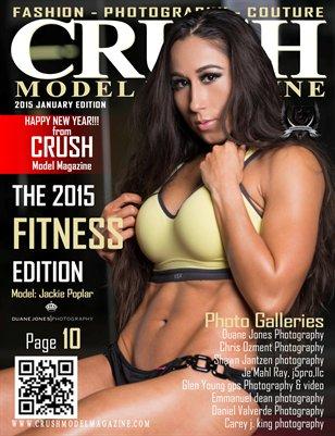 CRUSH MODEL MAGAZINE 2015 FITNESS EDITION