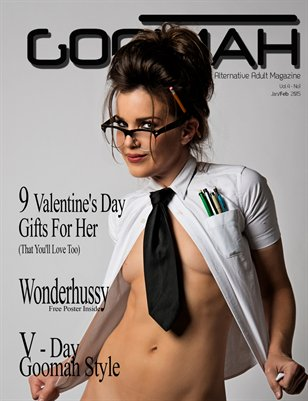 Goomah Magazine - Jan/Feb 2015 - Cover 1