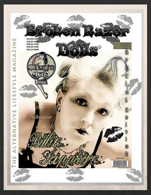 BROKEN RAZOR DOLLS (THE ALTERNATIVE LIFESTYLE MAGAZINE) JUNE 2016