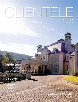 Clientele Luxury January Issue- Winter