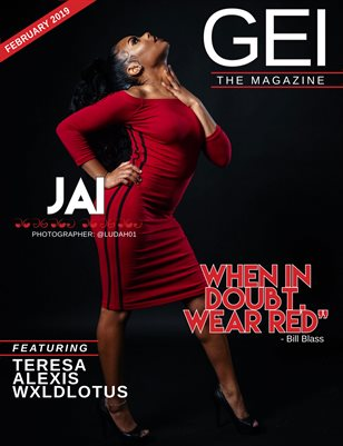 "February 2019 "" Red Dress Issue"""