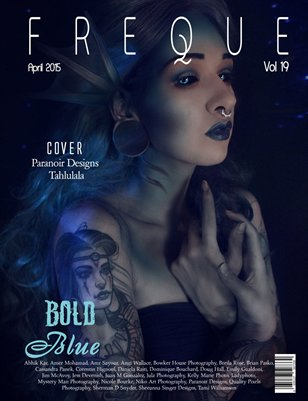 Freque Magazine Vol 19 - Blue
