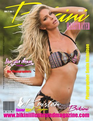 BIKINI ILLUSTRATED MAGAZINE - Cover Girl Kristen Kwynn - January 2017