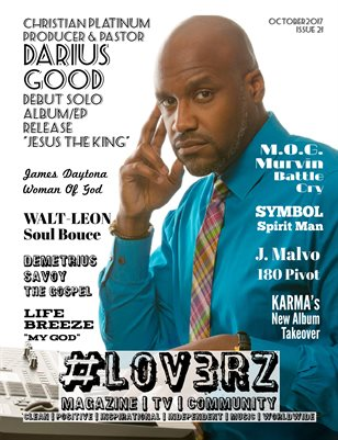 #LOV3RZ Independent Magazine October 2017