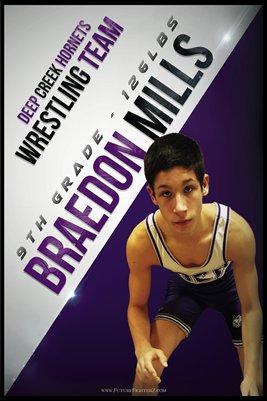 Braedon Mills DC #1 Poster
