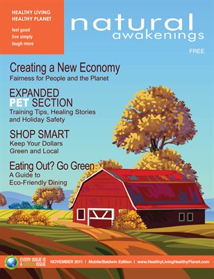 November 2011: Personal & Local Economy with Expanded Pet Section