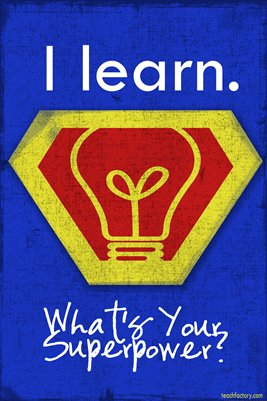 I Learn. What's your superpower?