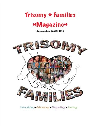 trisomy families awareness issue