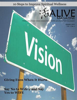 ALIVE Magazine January 2012