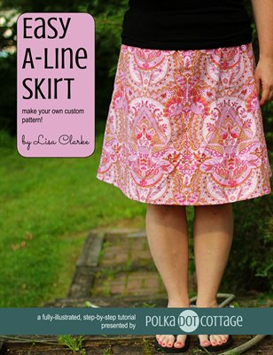 Easy A-Line Skirt Sewing Tutorial