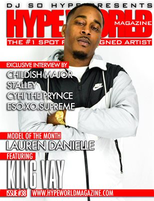 HYPE WORLD MAGAZINE ISSUE #38