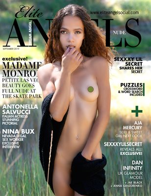 Elite Angels Nude Magazine #5 MMEMONROE