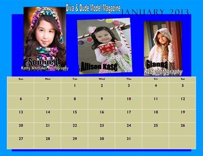2013 Calendar #2 D&D Model Magazine