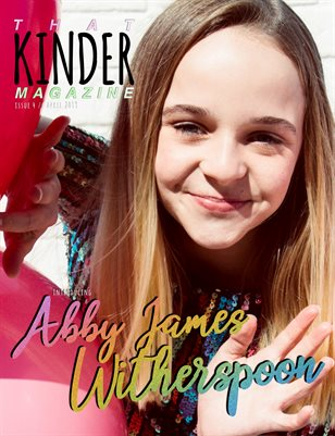 THAT KINDER MAGAZINE / ISSUE 4