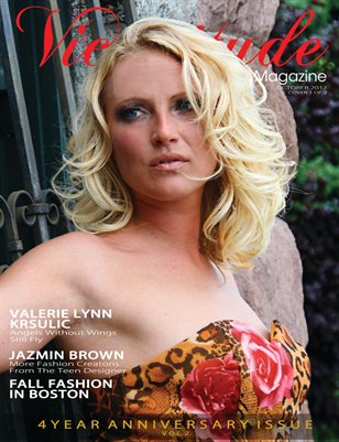 Vicissitude Magazine - October 2012 - 4-Year Anniversary Issue Vol. 2 - Valerie Kruslic Cover