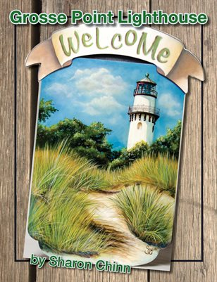 Grosse Point Lighthouse Painting Pattern Tutorial - Sharon Chinn