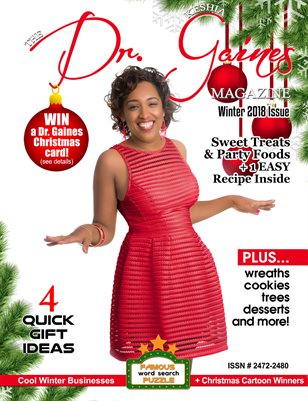 The Dr. Keshia Gaines Magazine- Winter 2018
