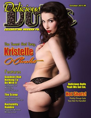 October 2015 Regular Issue - Kristelle O'Chocolat Cover