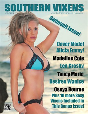 Southern Vixens Magazine Swimsuit Issue July 2012