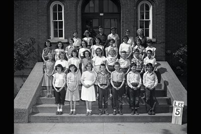 May 9, 1951 5th Grade, Lee School