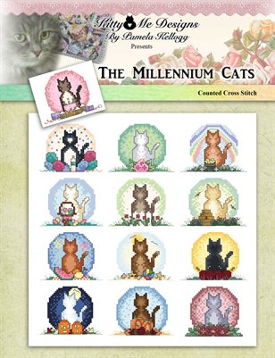The Millennium Cats Counted Cross Stitch Patterns