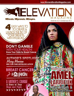 October 2013 Issue with Amel Larrieux