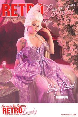 Sally Marvel Cover Poster VDay