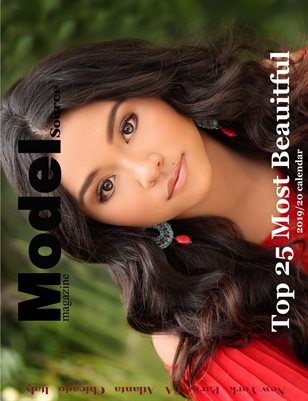 Model Source magazine Top 25 Most Beauitful 2019/20 Calendar