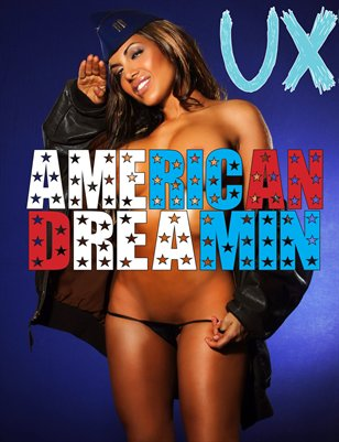 UX Magazine Issue 9 (The American Dreamin Issue) Cover 2 The Monthly Coffee Table Book For The Glamour Enthusiast