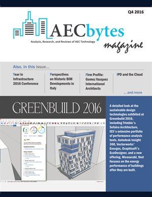 AECbytes Magazine Q4 2016