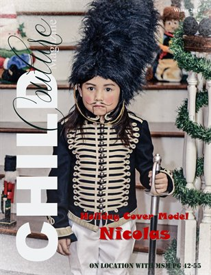 Child Couture Magazine Winter Issue  2014