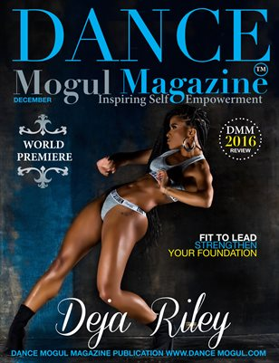 Dance Mogul Magazine featuring Deja & Taja Riley