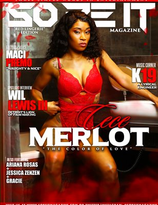 SO BE IT MAGAZINE ISSUE 45 (CECE MERLOT)