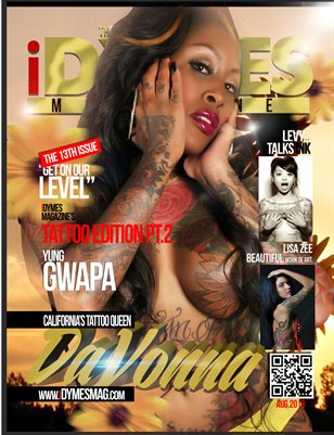 iDYMES Magazine Tattoo Edition August '13
