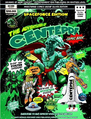 "Centepde Comics ""Spacerace"" Silver Edition"