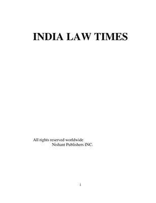 India Law Times
