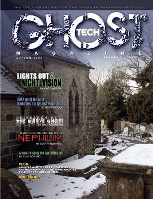 GHOST TECH MAGAZINE Vol. 1