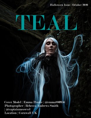 Teal Magazine Halloween Issue.