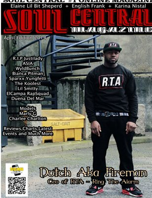 Soul Central Magazine April Edition 2014
