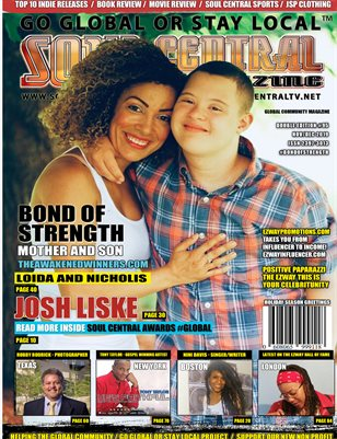 Soul Central Magazine Loida & Nicholis #Edition #95