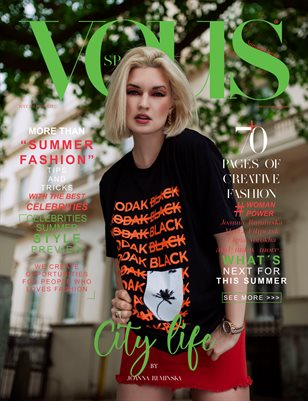 VOUS Magazine | The July Fashion & Beauty Edition | Vol.12 | 2021