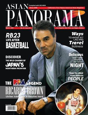 Ricardo Brown Asian Panorama Magazine