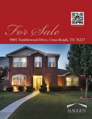 Haugen Properties -  8901 Tumbleweed Drive, Cross Roads, TX 76227