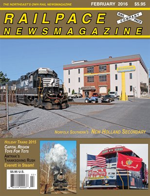 February 2016 Railpace Newsmagazine